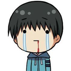 ♡ On Pinterest @ kitkatlovekesha ♡ ♡ Pin: Chibi Anime ~ Tokyo Ghoul ~ Kaneki Ken ♡