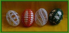 Předlohy na háčkovaná vajíčka