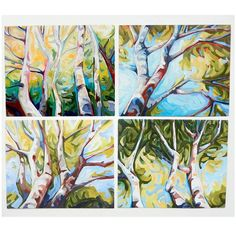 4 of 6 Client sketches for an upcoming #painting project..... if all goes well! Pitch day Friday ☺ * * * #birchtreesfordays #birch #birchtrees #tree #inspiredbynature #treehugger