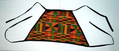 Kente Triangle Crop Top by TribesOfKin on Etsy