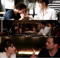 The trilogy Fifty Shades Quotes, Shade Quotes, Fifty Shades Movie, Fifty Shades Darker, Fifty Shades Of Grey, Christian Grey, 50 Shades Trilogy, Dakota Johnson Movies, Blockbuster Film