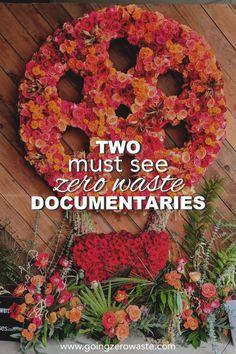 Two must see zero waste documentaries from www.goingzerowaste.com #zerowaste