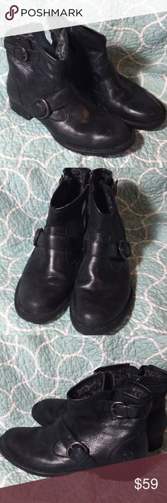 643f163b3cf5 Born ankle distressed boots booties size 8.5 Excellent lovingly pre-owned  condition. Beautiful