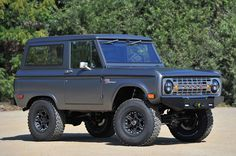 The rebuilt redesigned $150,000+ Icon Bronco based on the 1966-1977 4x4 body.