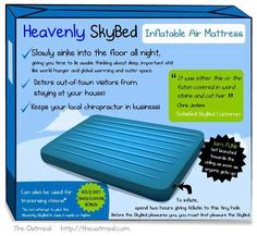 Sky bed lol