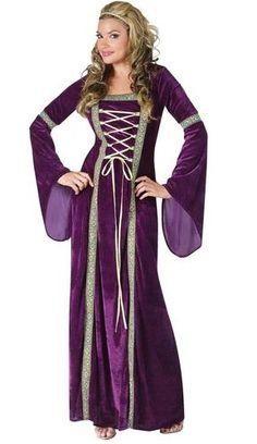 Renaissance Lady Adult Costume [Renaissance and Medieval Costume] - In Stock Costume Renaissance, Medieval Costume, Medieval Dress, Renaissance Clothing, Medieval Outfits, Medieval Gothic, Renaissance Fashion, Renaissance Fair, Modest Halloween Costumes