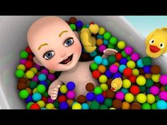 Baby Finger Family Song for Learning Colors - Baby Popping balloon Songs for Kids - YouTube