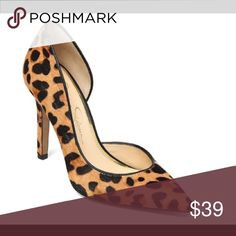 """NWT Jessica Simpson, """"Claudette"""" animal print heel Claudette-NWT  Women's pumps Pointed toe 4"""" heel height Upper materials: fabric Sole materials: synthetic Fit true to size Jessica Simpson Shoes Heels"""
