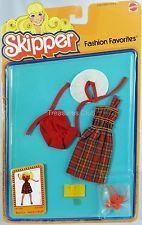 Skipper Doll Fashions Favorites Clan-Tastic #1953 New NRFP 1979 Mattel, Inc. 3+