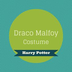 Draco Malfoy Costume, Costume Ideas, Costumes, Slytherin House, Costume Tutorial, Harry Potter, Slytherin, Dress Up Clothes, Fancy Dress
