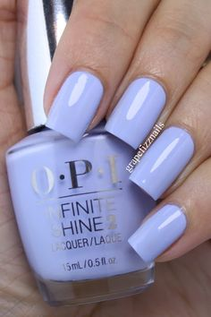 grape fizz nails: OPI Infinite Shine Summer Collection 2015