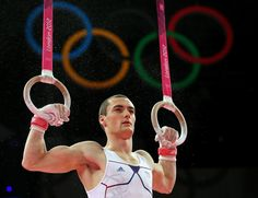 Cyril Tommasone of France competes on the rings in the Artistic Gymnastics Men's Individual All-Around final on Day 5 of the London 2012 Olympic Games at North Greenwich Arena on August 1, 2012 in London, England.