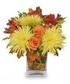 Windy Autumn Day Bouquet