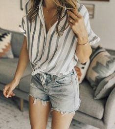 Awesome 44 Beautiful Casual Summer Outfits Women