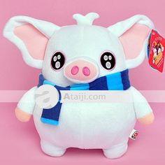 Elegance Hobby Colección decoración del hogar de peluche de dibujos animados Toy cerdo
