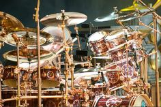 Neil Pearts steampunk drum set!