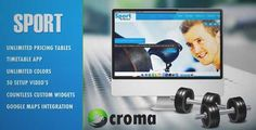 Download and review of Sport & Fitness Theme for Gyms & Fitness clubs, one of the best Themeforest Multipurpose themes