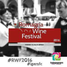 Anche quest'anno racconteremo le eccellenze del vino di Romagna. Saremo presenti al Romagna Wine Festival l'appuntamento con il gusto più atteso della #romagna un intero fine settimana dedicato al #vino e al #cibo di qualità! 15-16-17 aprile #Cesena...Save the date! Taggate le vostre foto con  #RWF2016 e #igersfc! #wine #festival #turismoer #browsingityaly #enogastronomia #sommelier #pornfood #romagnawinefestival by igersfc
