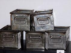 ...old metal drawers.....