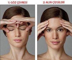 Yüz egzersizi ile sadece 6 günde daha genç ve kırışıksız görünebilirsiniz.