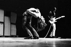 Iggy and the Stooges On Stage in France Picture