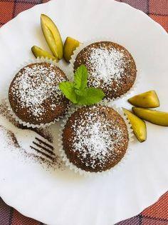 Szilvás-mákos muffin Panna Cotta, Muffins, Pudding, Breakfast, Ethnic Recipes, Desserts, Food, Candy, Morning Coffee