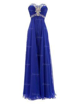 royal blue prom dress long prom dress sweetheart prom