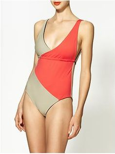 a8799d23260aa Nosara Color Block One Piece  180 Nosara