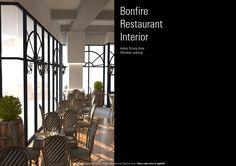 Bonfire Restaurant, Dining Area, Indoor, Interior, Home Decor, Decoration Home, Room Decor, Interiors, Home Interior Design