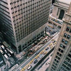 Awesome shot by @dimitrimais  #NewYork #NewYorkCity #newyorker #NewYorkNewYork #NYC #nyclife #USA #America #UnitedStates #city #citylife #view #bigcity #vsco #vscocam #photogrid #photo #vsconyc #instagramers #instagrammers #instamood #street #view #architecture