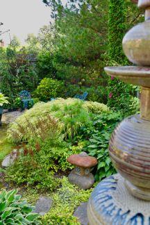 A garden exquisite in every way Niagara Region, Stepping Stones, Buffalo, Gardens, Outdoor Decor, Garden, Garden Types, Tuin, Water Buffalo