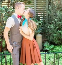 Disney Costumes Lady and the Tramp Dapper Day Disneybound Disney Cosplay, Disney Costumes, Couple Halloween Costumes, Fun Costumes, Woman Costumes, Mermaid Costumes, Halloween Town, Adult Costumes, Dapper Day Disneyland