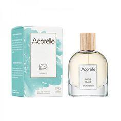 Eau de Parfum Bio & Vegan Lotus Blanc Acorelle Parfum Bio, Fragrance Parfum, Lotus, Shampoo, Perfume Bottles, Beauty, Vegan, Father's Day, White People