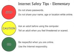 online internet safety for elementary - Google Search