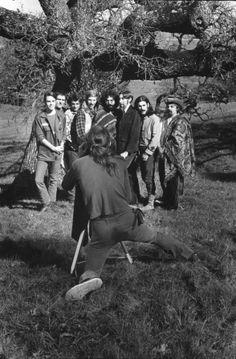Grateful Dead Photo 1969 Photographer Thomas Weir at the Aoxomoxoa album cover shoot.