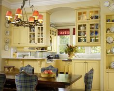 Kitchen Rustic Kitchens Red Cabinets Design, Pictures, Remodel, Decor and Ideas - page 3
