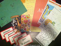 """...the letter once written remains."" :: Ideas for Packages to Compassion Sponsored Children //Proverbs 2 Pursuit :: Wisdom"