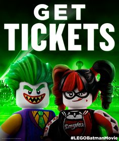 Celebrate Valentine's Day by seeing The LEGO® Batman Movie with your partner in crime. Tickets NOW available. | The LEGO® Batman Movie | In theaters now