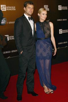 Joshua Jackson & Diane Kruger, Haiti Benefit