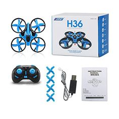 Geekercity H36 Mini RC Drone 24G 4CH 6 Axis Gyroscope Headless Mode Remote Control UFO Micro Quadcopter RTF Onekey Return Helicopter Toys for Kids No Camera Blue * You can get additional details at the image link.Note:It is affiliate link to Amazon.