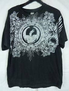 Dragon Alliance Men's Black Short Sleeve Graphic T Shirt 100 Cotton Size Large | eBay