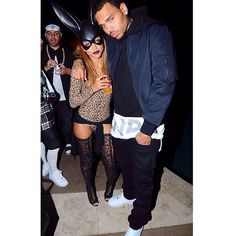Met some guy last night who was dressed as Chris Brown.. Cool costume bruh karrueche