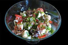 Marinated Poached Italian Seafood Salad: Insalata Frutti di Mare via @acanadianfoodie