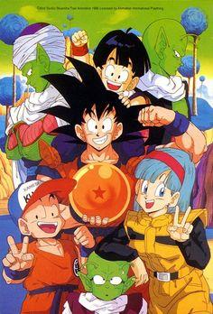Dragon Ball Z Dragon Ball anime Akira Toriyama Son Goku Son Gohan Kuririn Bulma Piccolo Dende Nail Namek Namekians Freeza Saga Dragon Ball Gt, Akira, Super Anime, Marionette, Z Arts, Animation, Fan Art, Fairytail, Anime Shows