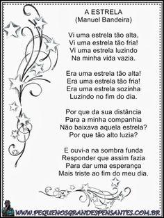 Pequenos Grandes Pensantes.: Atividades para o Dia Da Poesia - Educação Infanti...
