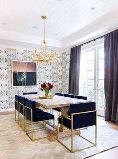 Classic Hollywood Glamour from Homepolish | Rue