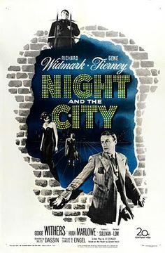 Film Noir poster.