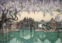 """Half Moon Bridge, 1941 Tōshi Yoshida From WIki: """"Tōshi Yoshida (吉田 遠志 Yoshida Tōshi?, July 25, 1911 - July 1, 1995),"""