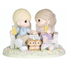 Precious Moments Always Be By My Side Figurine