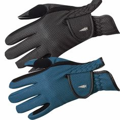 Softshell Winter riding gloves by Kerrits are insulated but with a thinner profile to give you more mobility and the soft touch riding requires.